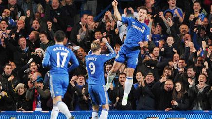 El Chelsea golea