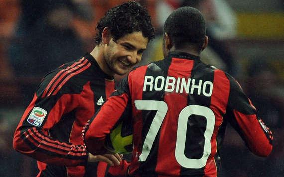 Pato y Robinho