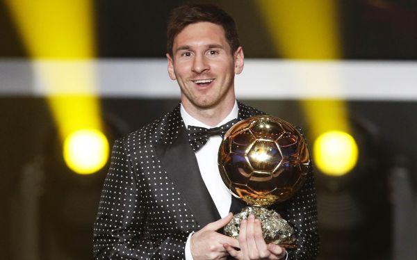 Messi gana el FIFA Balón de Oro 2012